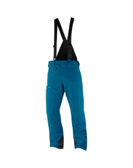 STORMRACE Spodnie narciarskie SALOMON Moroccan Blue